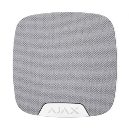 Беспроводная комнатная сирена Ajax HomeSiren белая - 1