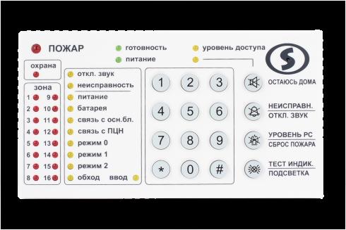 Выносной модуль индикации и управления «Линд-9М3» - 1