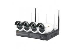 1.0MP Набор для улицы Wi-Fi IP-33 4xCAM + 1xNVR