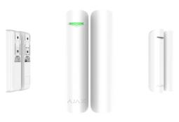Датчик открытия двери/окна с сенсором удара и наклона Ajax DoorProtect Plus белый